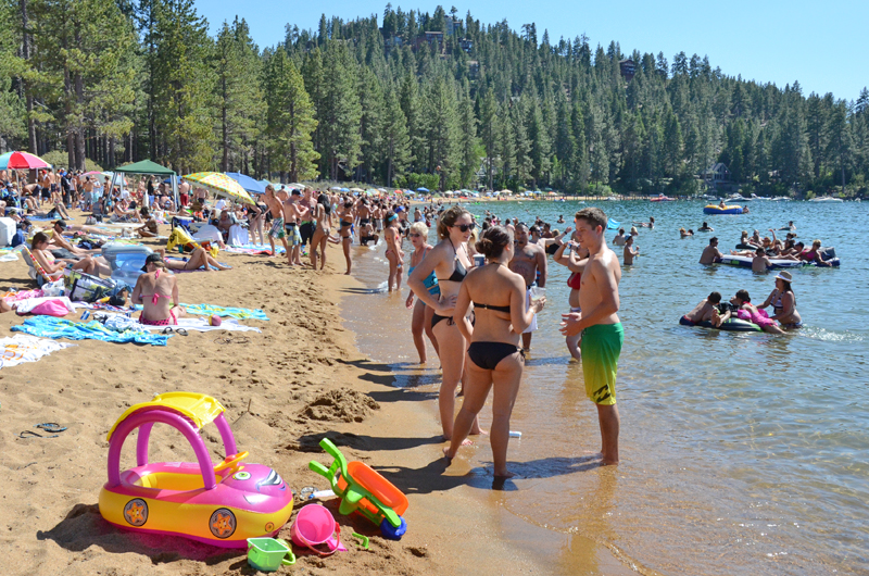 south lake tahoe offers several beaches for your specific interests